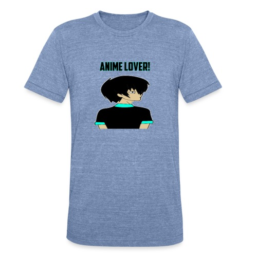 anime lover - Unisex Tri-Blend T-Shirt