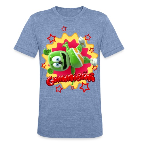 Gummibär Starburst - Unisex Tri-Blend T-Shirt