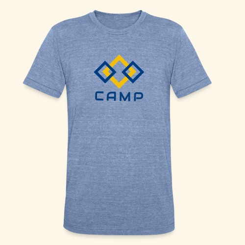 CAMP LOGO and products - Unisex Tri-Blend T-Shirt