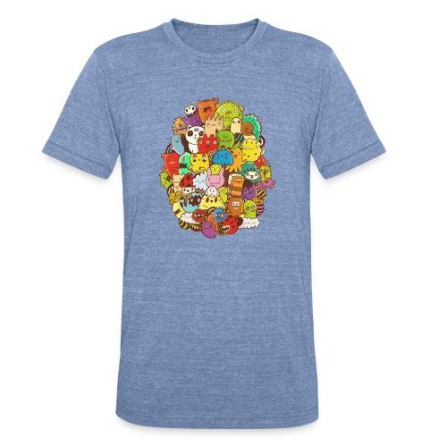 Doodle for a poodle - Unisex Tri-Blend T-Shirt