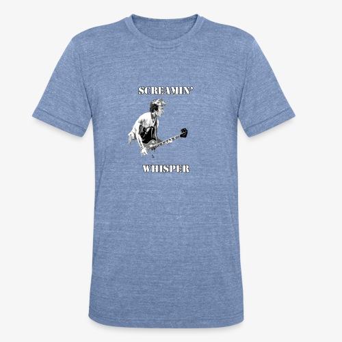 Screamin' Whisper Filth Design - Unisex Tri-Blend T-Shirt