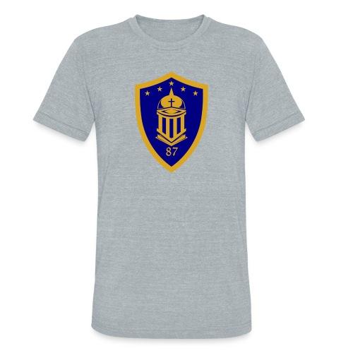 Ateneo HS Batch 87 Logo - Unisex Tri-Blend T-Shirt