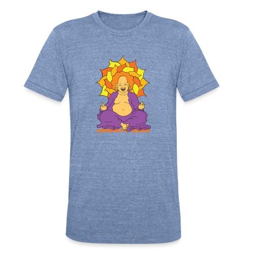 Laughing At You Buddha - Unisex Tri-Blend T-Shirt