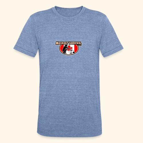 Muskrat Badge 2020 - Unisex Tri-Blend T-Shirt