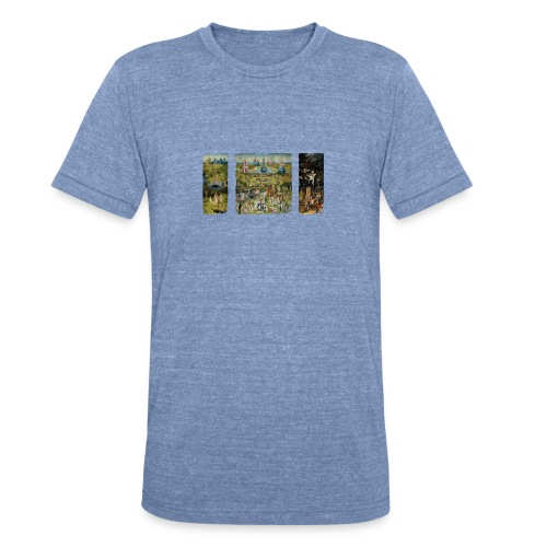 Garden Of Earthly Delights - Unisex Tri-Blend T-Shirt