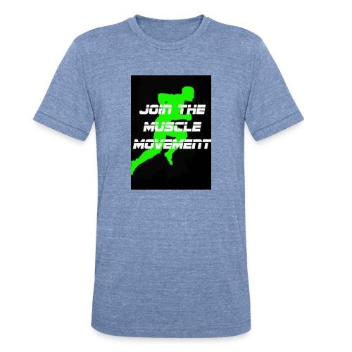 muscle movement - Unisex Tri-Blend T-Shirt