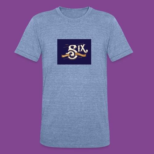 the 6 blue - Unisex Tri-Blend T-Shirt