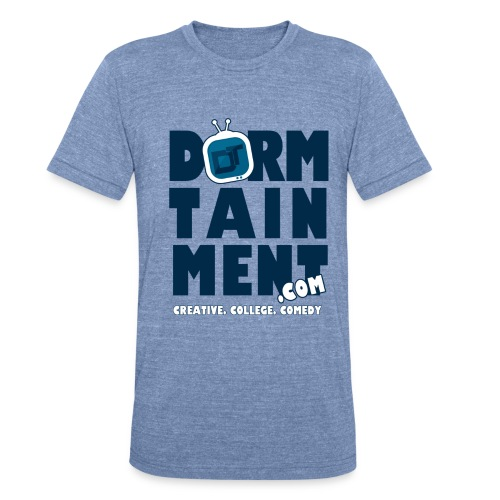 basic dt tshirt2 - Unisex Tri-Blend T-Shirt