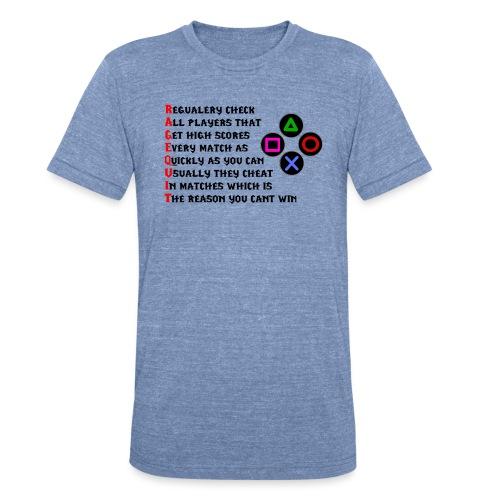 ragequit - Unisex Tri-Blend T-Shirt