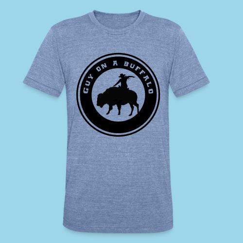 Guy On A Buffalo - Unisex Tri-Blend T-Shirt