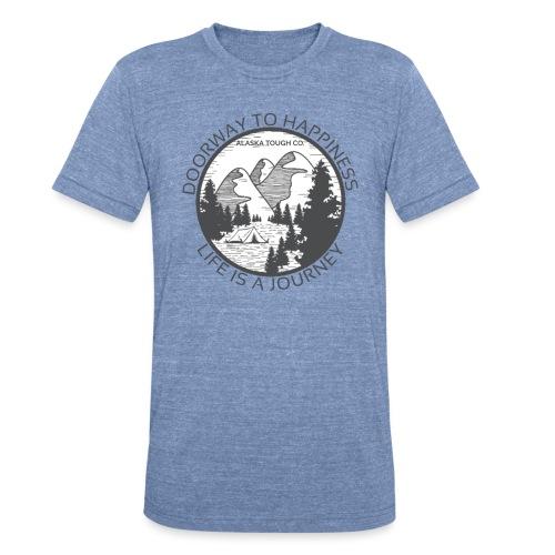Life is a Journey Design - Unisex Tri-Blend T-Shirt