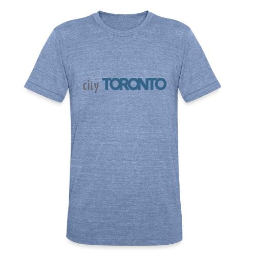 cityTorontoLogoNEW.png - Unisex Tri-Blend T-Shirt