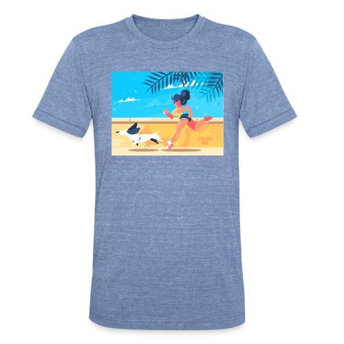 run for fun - Unisex Tri-Blend T-Shirt