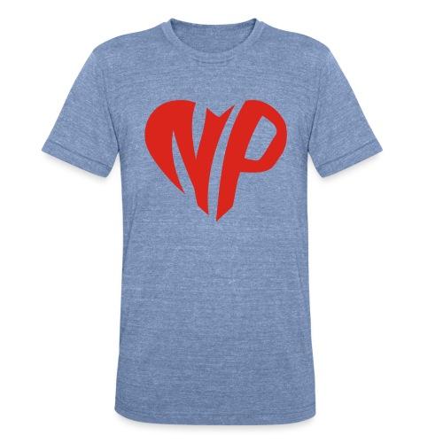 np heart - Unisex Tri-Blend T-Shirt