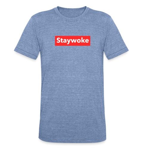 Stay woke - Unisex Tri-Blend T-Shirt