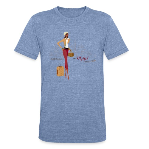 BrowOutfitPNG png - Unisex Tri-Blend T-Shirt