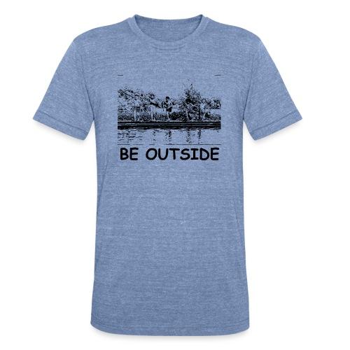 Be Outside - Unisex Tri-Blend T-Shirt