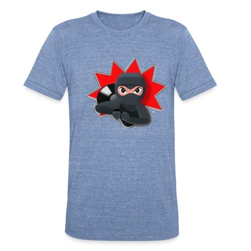 MERACHKA ICON LOGO - Unisex Tri-Blend T-Shirt
