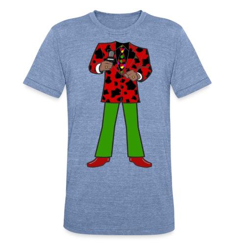 The Red Cow Suit - Unisex Tri-Blend T-Shirt