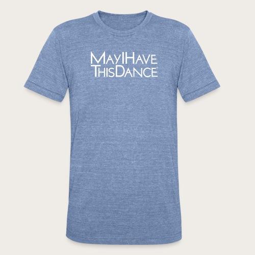 MAYI white logo - Unisex Tri-Blend T-Shirt