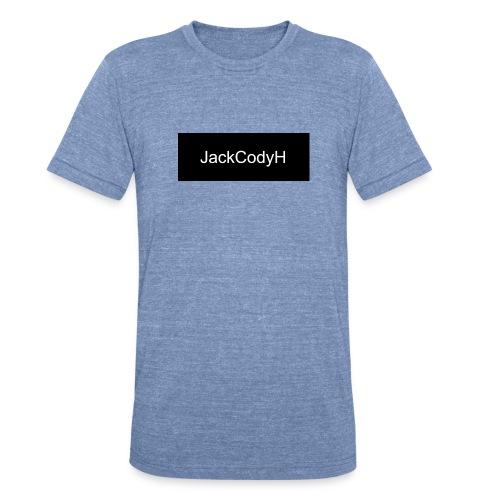 JackCodyH black design - Unisex Tri-Blend T-Shirt