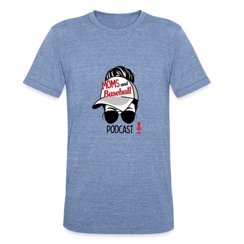 Moms and Baseball - Unisex Tri-Blend T-Shirt