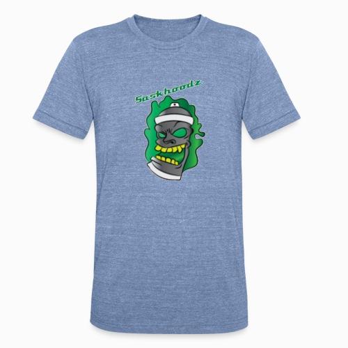 saskhoodz paint - Unisex Tri-Blend T-Shirt