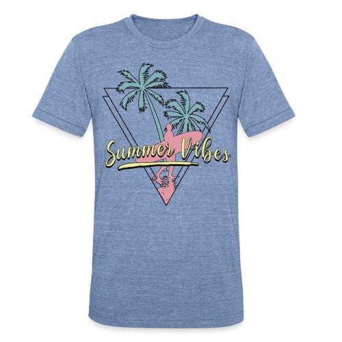 summer vibes - Unisex Tri-Blend T-Shirt