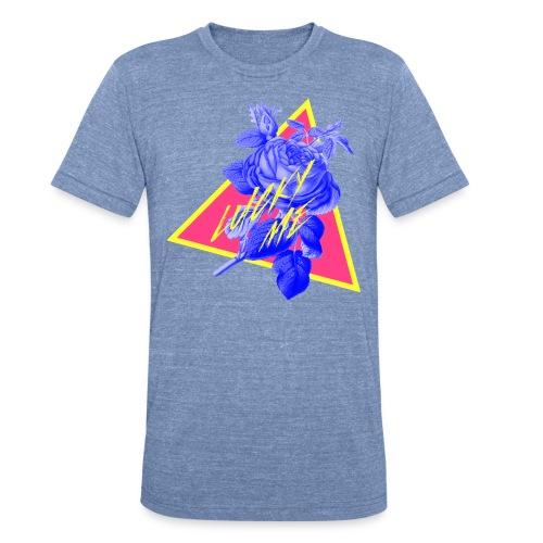 neon flower - Unisex Tri-Blend T-Shirt