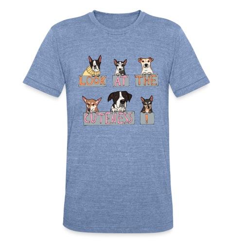 Look at the Cuteness - Unisex Tri-Blend T-Shirt