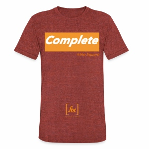 Complete the Square [fbt] - Unisex Tri-Blend T-Shirt by American Apparel