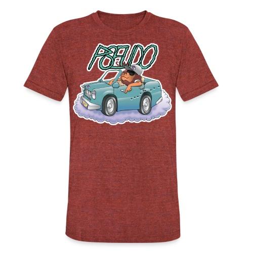 PSEUDO SLIM - Unisex Tri-Blend T-Shirt