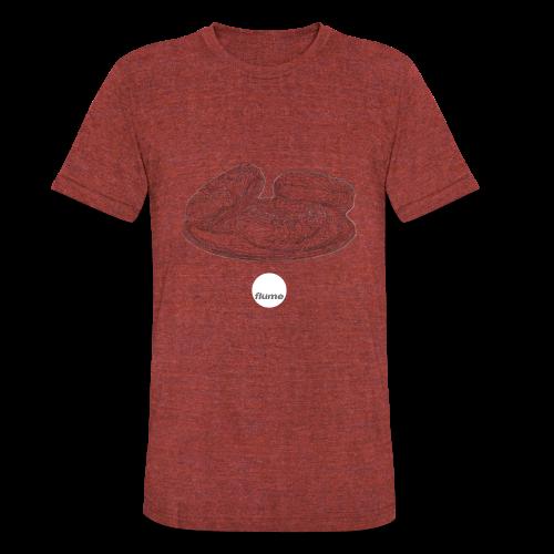 Floating point - Unisex Tri-Blend T-Shirt
