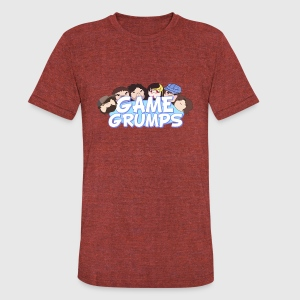 Game Grumps - Unisex Tri-Blend T-Shirt by American Apparel