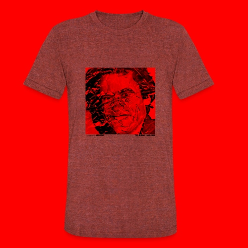 Ted Bundy, portrait of a legend. - Unisex Tri-Blend T-Shirt