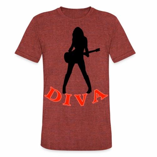 Rock Star Diva - Unisex Tri-Blend T-Shirt