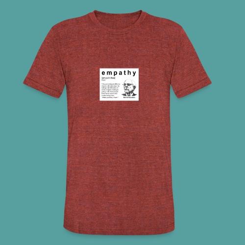 Bernie Sanders 1 - Unisex Tri-Blend T-Shirt