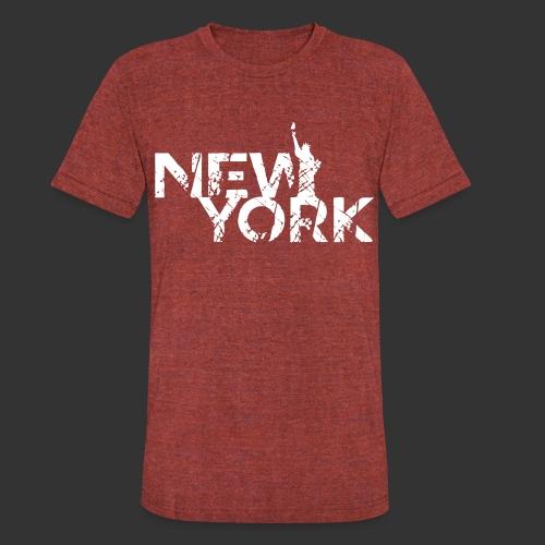 New York (Flexi Print) - Unisex Tri-Blend T-Shirt