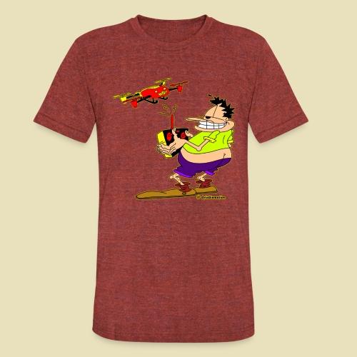 GrisDismation Ongher Droning Out Tshirt - Unisex Tri-Blend T-Shirt