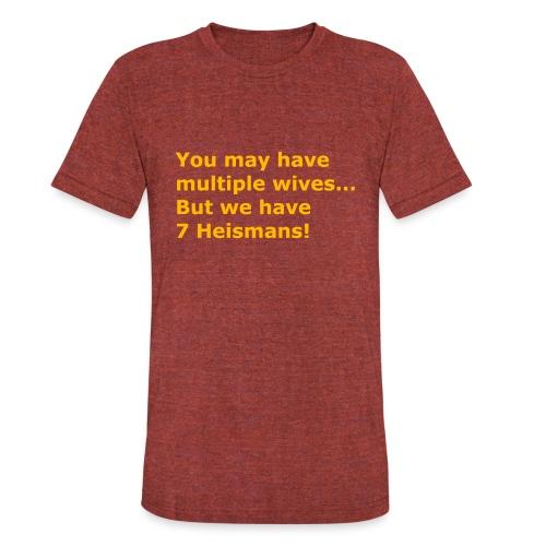 Multiple Wives - Unisex Tri-Blend T-Shirt