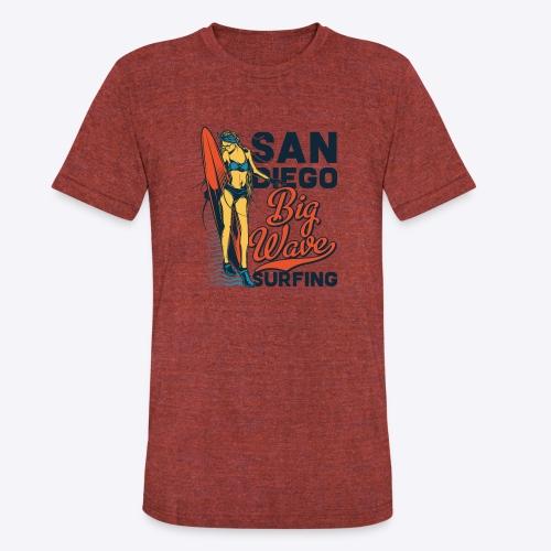 05 surf 6 - Unisex Tri-Blend T-Shirt