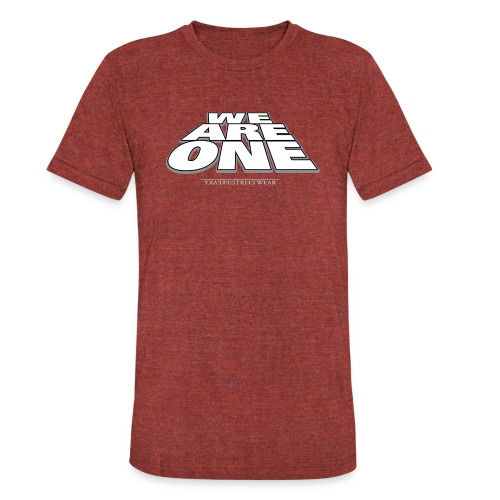 We are One 2 - Unisex Tri-Blend T-Shirt
