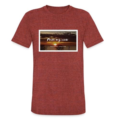 THE HAPPY CANADIAN - Unisex Tri-Blend T-Shirt