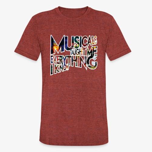 MTMEIK Broadway - Unisex Tri-Blend T-Shirt