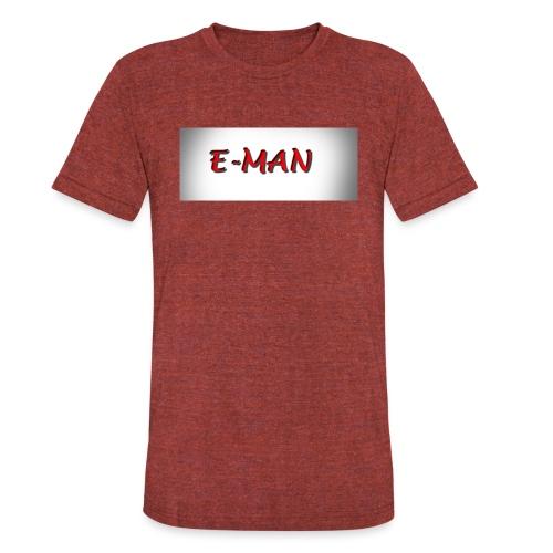 E-MAN - Unisex Tri-Blend T-Shirt