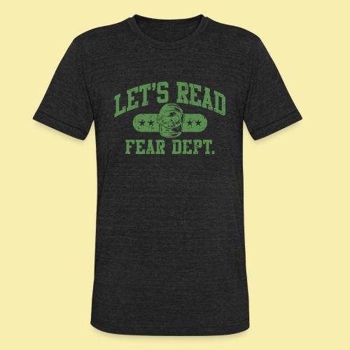 Athletic - Fear Dept. - Unisex Tri-Blend T-Shirt
