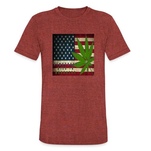 Political humor - Unisex Tri-Blend T-Shirt