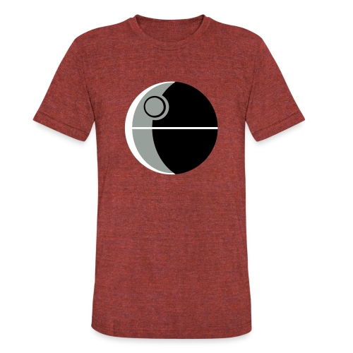 This Is Not A Moon - Unisex Tri-Blend T-Shirt