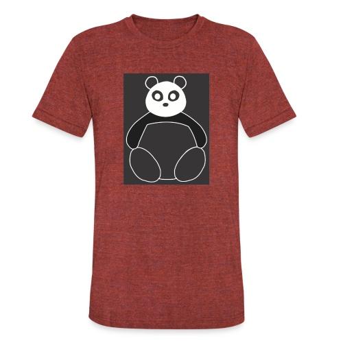 Fat Panda - Unisex Tri-Blend T-Shirt