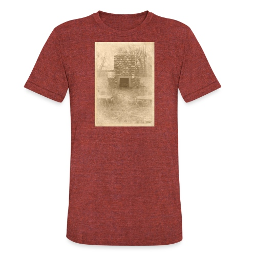 Burning in the Woods - Unisex Tri-Blend T-Shirt